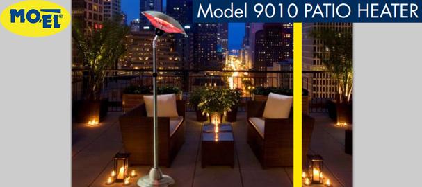 Инфрачервена лампа Моел Патио 9010